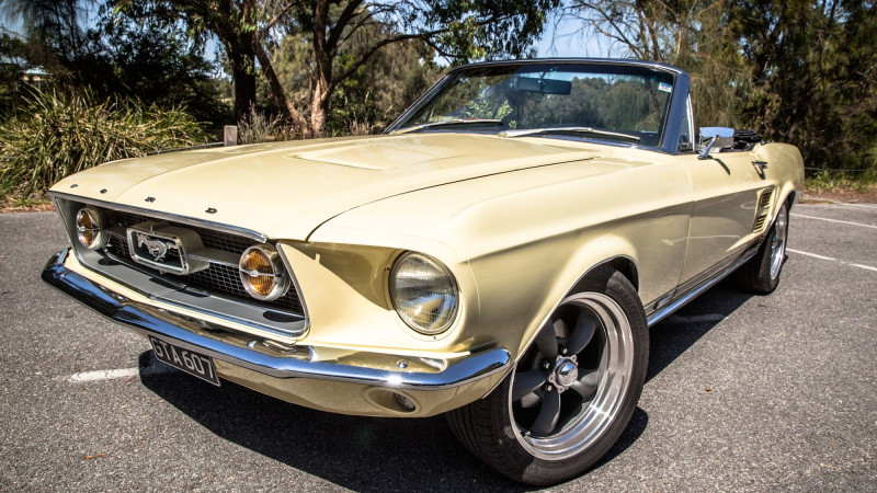 1967 Gta Mustang Self Drive One Day Car Hire Weekend