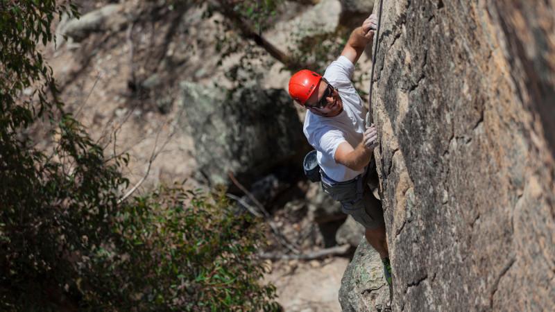 an introduction to rock climbing An introduction to rock climbing for anyone who wants to experience a safe vertical adventure, emphasizing safety skills, basic climbing technique, teamwork, an.