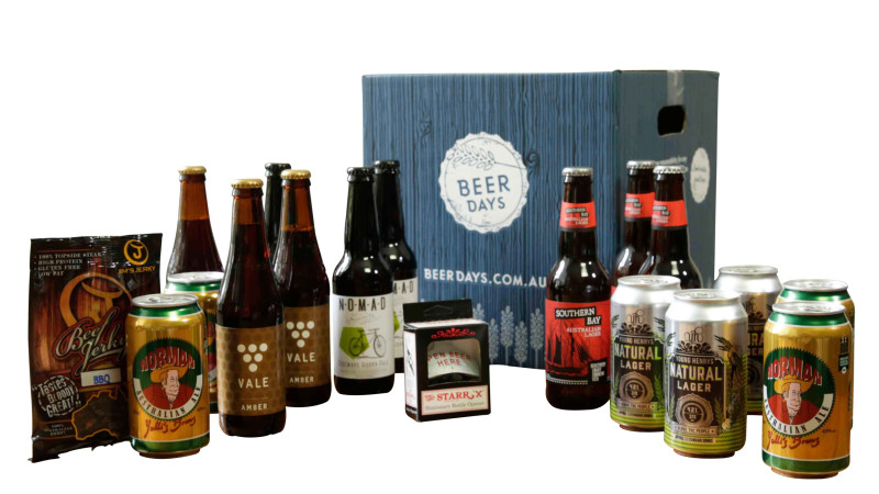 Craft beer and snacks classic 16 pack for Craft beer gift set