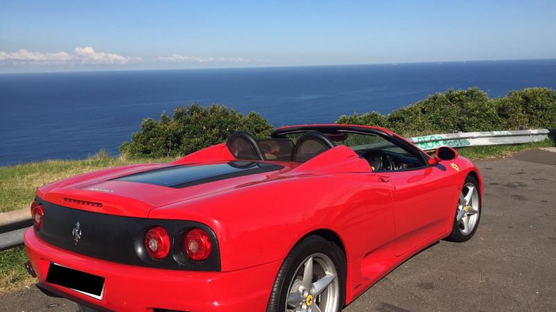 Car Hire Ferrari Sydney