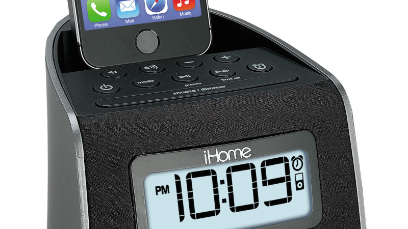 how to set time on ihome ipl22