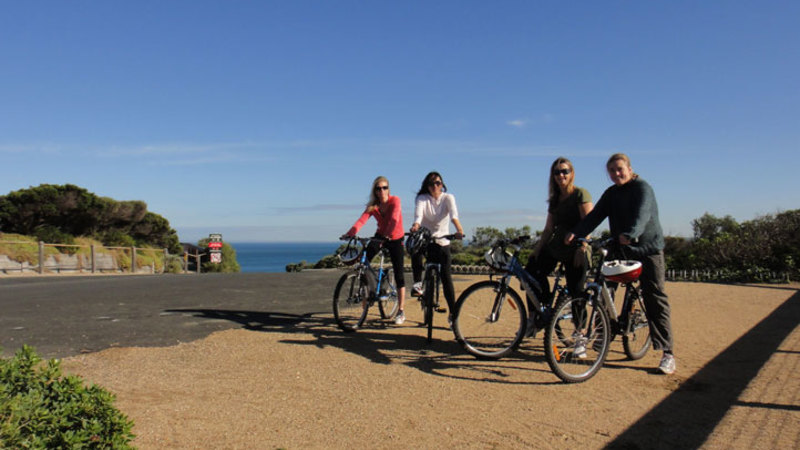 self guided bike food tours melbourne