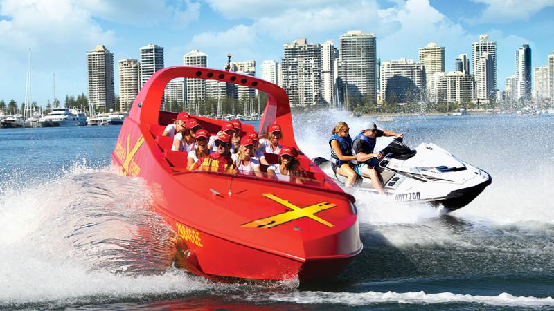 Redballoon Jet Boat Thrill ...