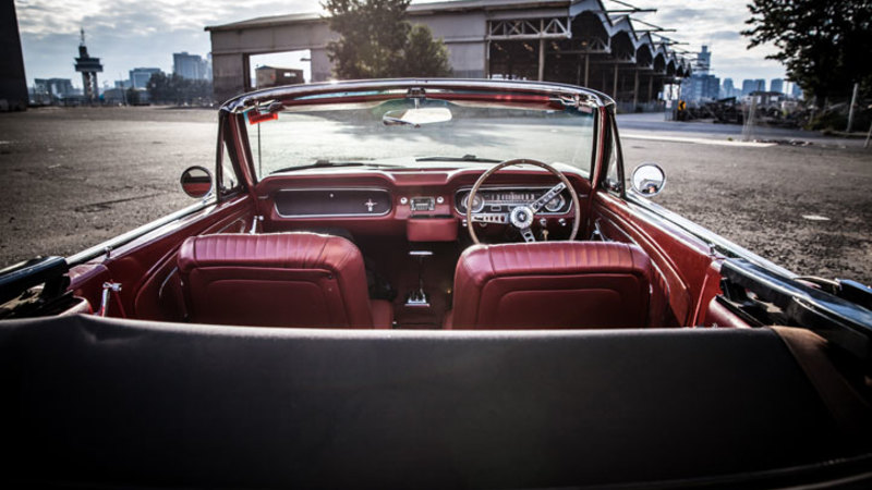 1965 Ford Mustang Convertible One Day Self Drive Midweek