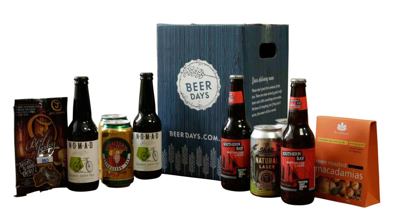 Craft beer and snacks gift pack for Craft beer gift set