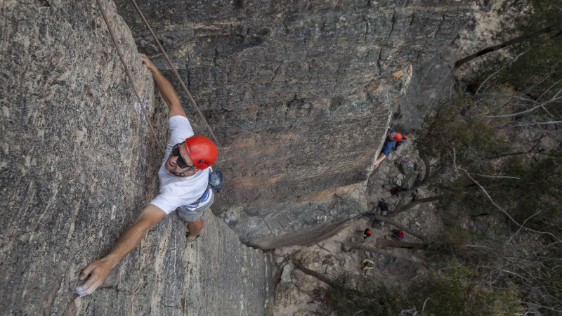 an introduction to rock climbing An introduction to rock climbing equipment with practice in basic rock climbing  skills and belaying upon successful completion students will be issued a belay.