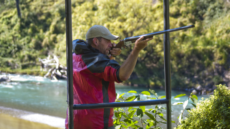 Shooting In Christchurch Video Gallery: Claybird Shooting In Hanmer Springs