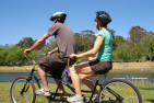 Self-Guided Tandem Bicycle Tour For Two