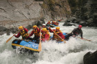 Canyon Swing and Whitewater Rafting Day Tour