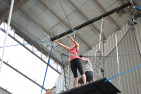Indoor Flying Trapeze - With A Photo CD