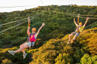 Zip Line Wine and Dine Coach Tour