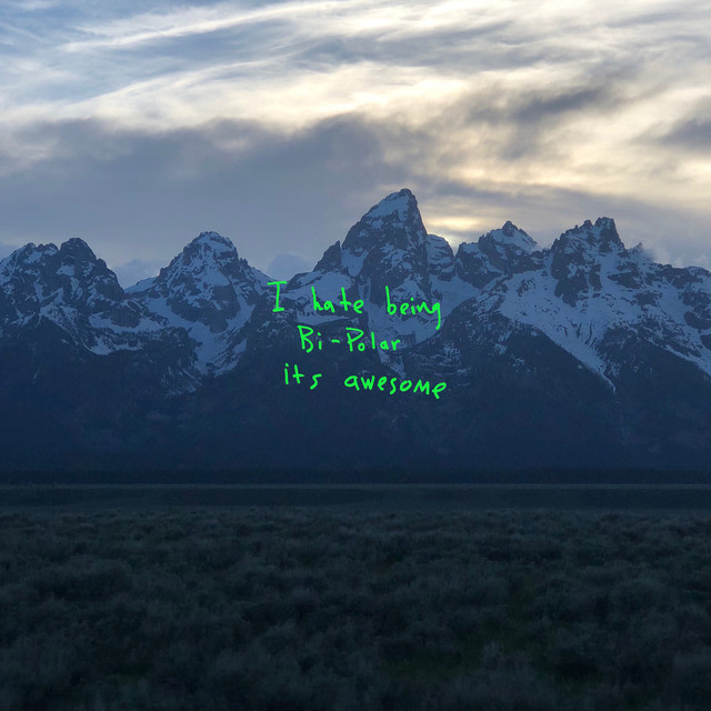 Kanye West - ye album artwork