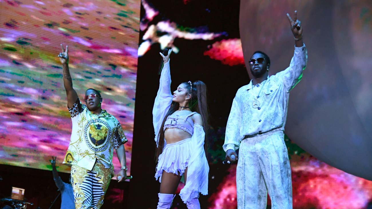 Image result for ariana grande coachella diddy