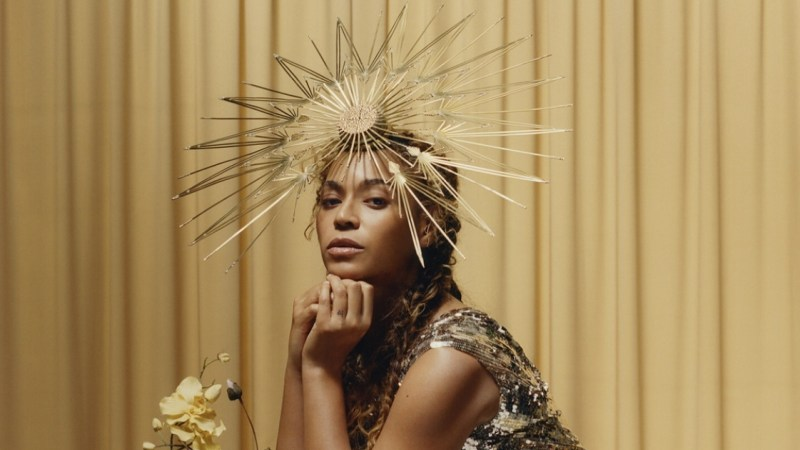 Beyoncé's iconic Vogue portrait by Tyler Mitchell to be