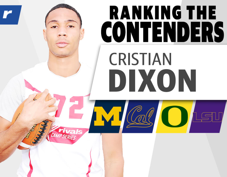 Photo of Ranking the Contenders: WR Cristian Dixon