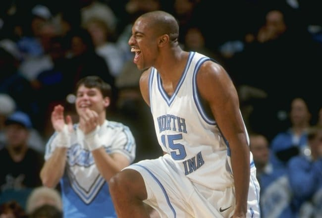 Vince Carter's exploits as a Tar Heel and for 21 seasons in the NBA earn him distinction as our Florida representative.