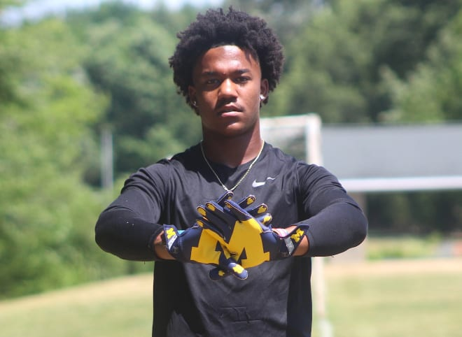 Ohio wide receiver Markus Allen is committed to Michigan Wolverines football recruiting, Jim Harbaugh.