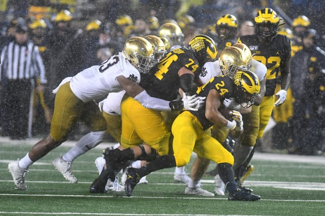 BlueAndGold - Notre Dame Planning To Work On Physical Therapy