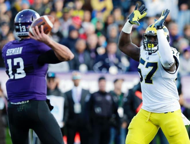 See Karan Higdon's late TD that saved MI  from a Northwestern upset