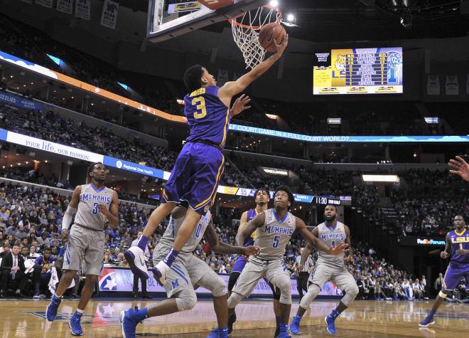 LSU uses second-half spurt to top Memphis
