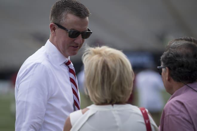 Alabama athletics director Greg Byrne. Photo | Getty Images
