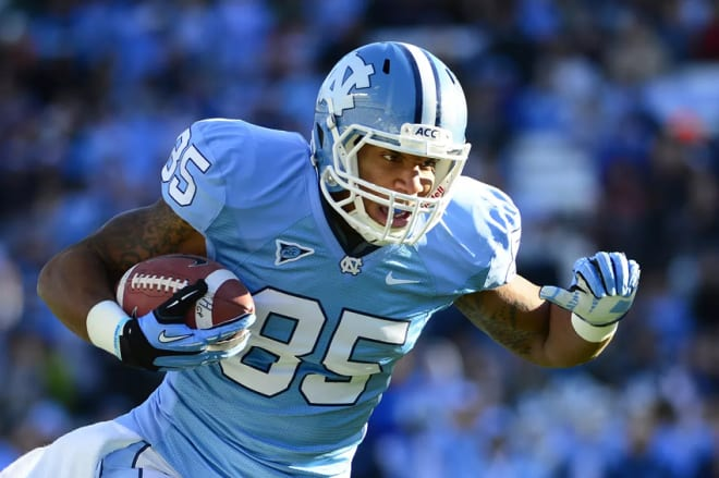 Eric Ebron was electric, productive & one of the best tight ends in Carolina history, not to mention is a good pro, too.