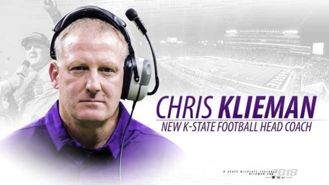 Official Release: Klieman is K-State's new head coach