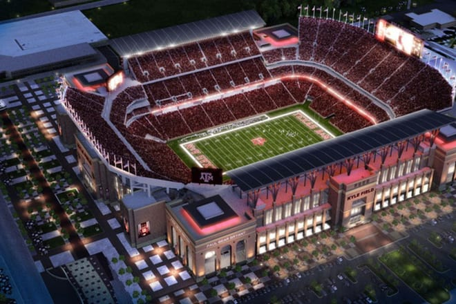 Texas A&M is only one of a few schools who have recently added more capacity to their stadium.