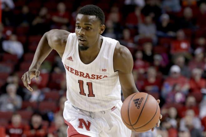 Redshirt junior guard Dachon Burke is leaving Nebraska as a graduate transfer.