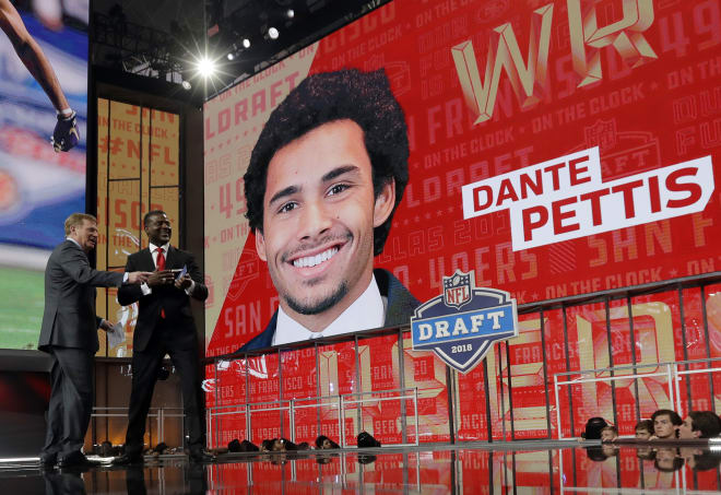 Thedawgreport Dante Pettis Knew How To Play For Chris