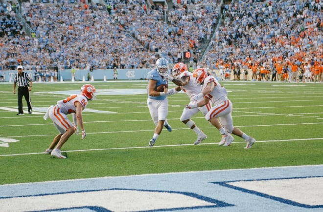 The loss to Clemson could have devastated the Tar Heels but didn't.