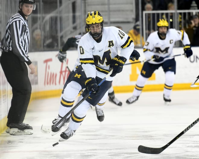 Junior forward Will Lockwood leads the Wolverines with 14 goals and is tied for third on the team with 13 assists.