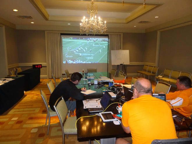 Gameplanning is hands-on approach by the offensive staff
