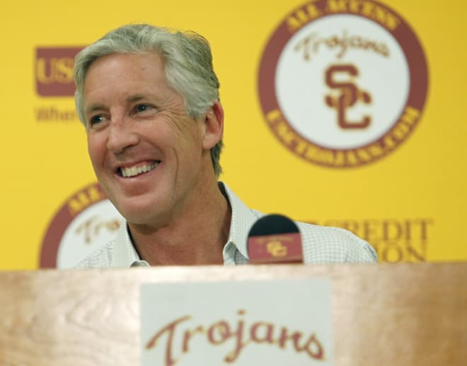 Pete Carroll in 2010