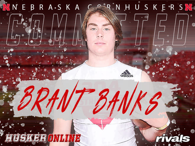 Defensive end prospect Brant Banks announced he was signing with Nebraska Wednesday morning.