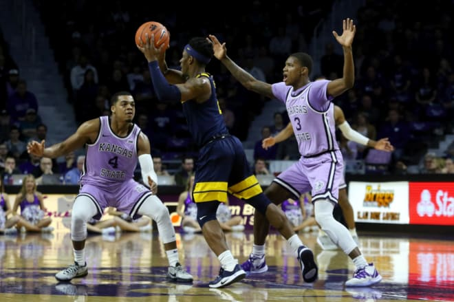 Kansas State faces tough test vs No. 3 Kansas