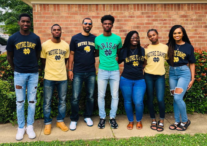 BlueAndGold - Caleb Offord Reflects On Notre Dame Commitment