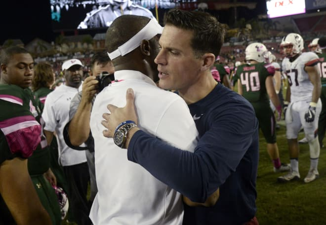 Nebraska defensive coordinator Bob Diaco has squared off with Oregon's Willie Taggart several times when they were at UConn and South Florida, respectively.
