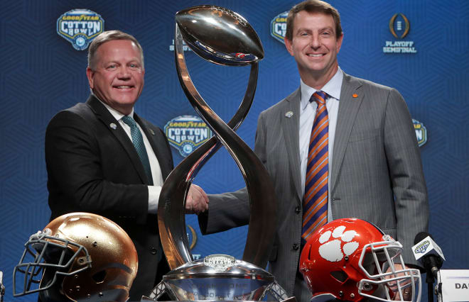 Tide, Clemson not surprise to play each other again