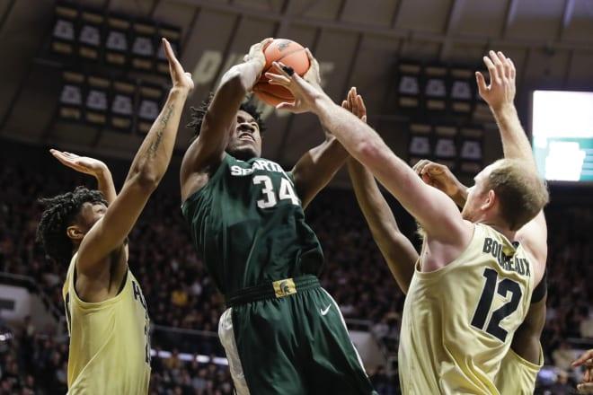 Purdue smashes No. 8 Michigan State at home