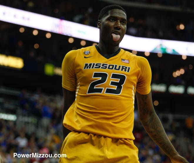 Missouri forward Jeremiah Tilmon has been shooting 1,000 three-pointers per day in an effort to improve his jump shot.