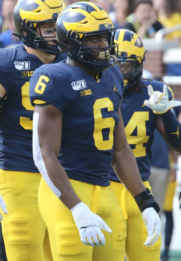TheWolverine - Josh Uche On The Start Of Big Ten Play — 'This Is How You Become Legendary'