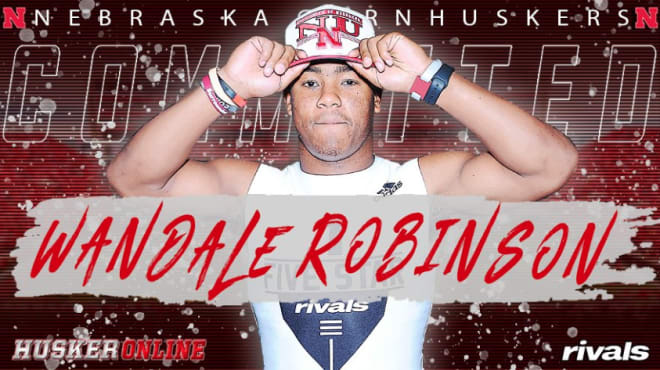 Wandale Robinson has flipped from Kentucky to Nebraska