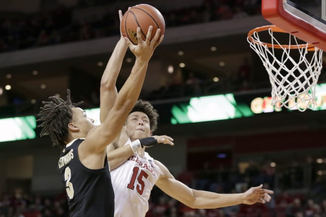 Nebraska went blow-for-blow with No. 15 Purdue on Saturday, but could make enough winning plays down the stretch in a 75-72 loss.
