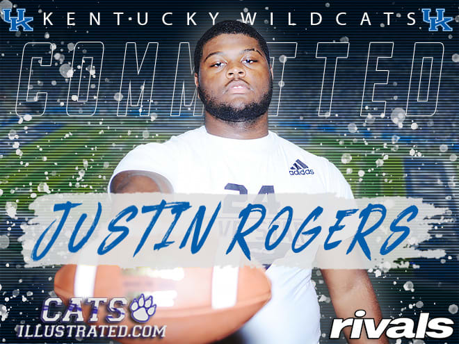 Nation's top offensive guard Justin Rogers commits to Kentucky over MI