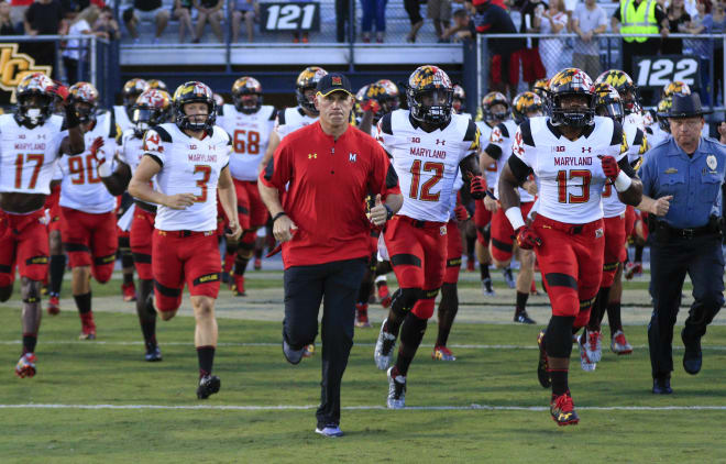 Maryland parts ways with head football coach DJ Durkin