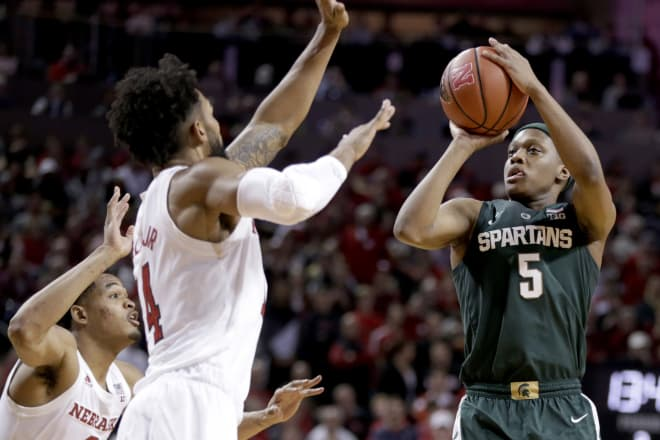 Michigan State vs. Nebraska Prediction and Odds (Thursday, January 17)