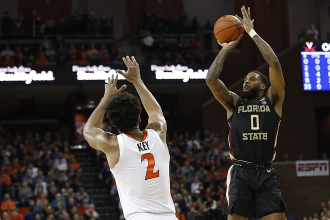 Key, Guy lead No. 4 Virginia past No. 9 FSU, 65-52