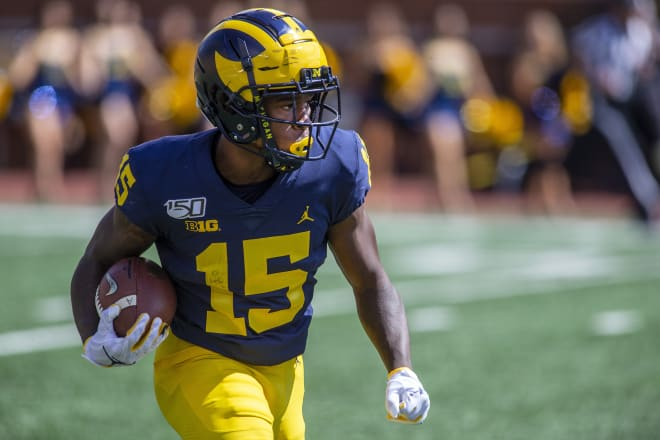 Michigan Wolverines football wideout Giles Jackson
