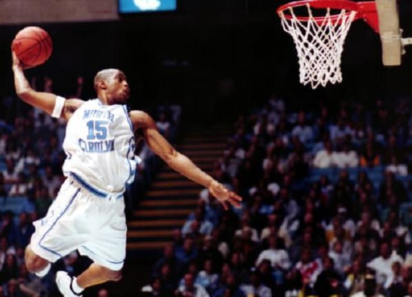 Remembering Vince Carter's UNC career: Highlights, stories and more to expect from the 'VINSANITY' marathon on ACC Network